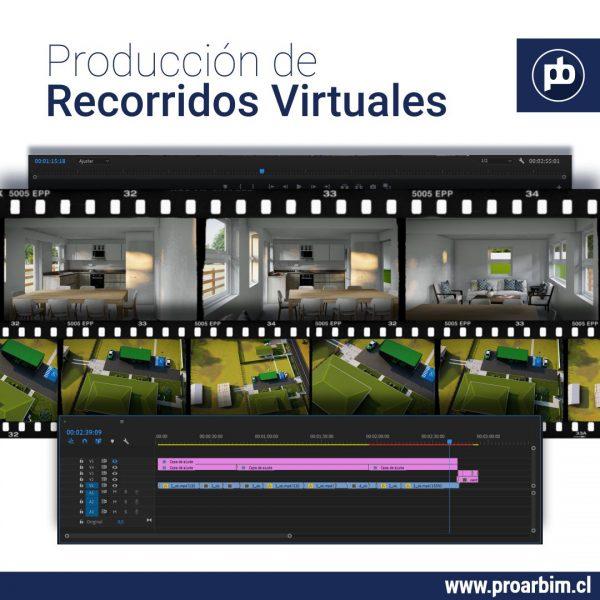 Produccion de Recorridos virtuales www.proarbim.cl