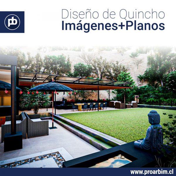 Diseño Quincho 2 www.proarbim.cl